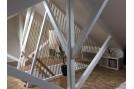 garde corps en corde naturelle pour escalier