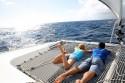 filet de catamaran pour la navigation de croisière