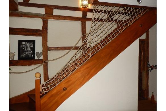 filet en chanvre pour escalier