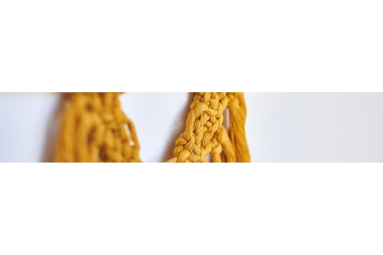 Corde et fil macramé
