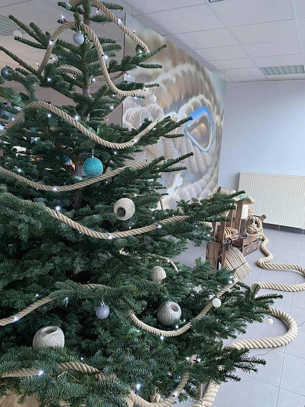 Sapin de Noël à la Corderie Gautier